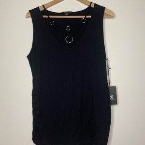 Rock & Republic | Tank Top | Large | Black